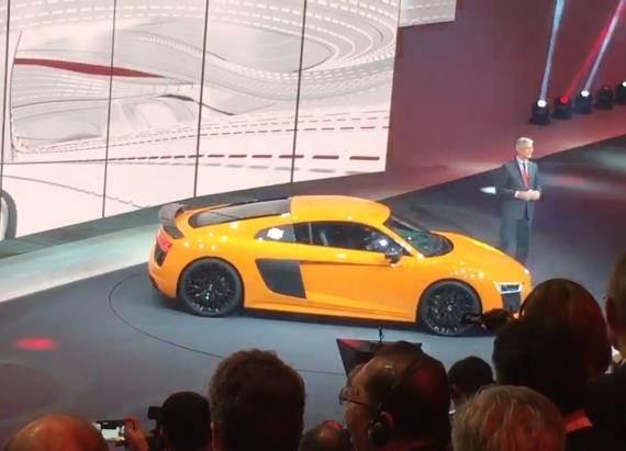 2016 Audi R8 Debut | 2015 Geneva Motor Show | Autoblog Short Cuts
