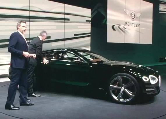 Bentley EXP 10 Speed 6 Debut | Autoblog Short Cuts