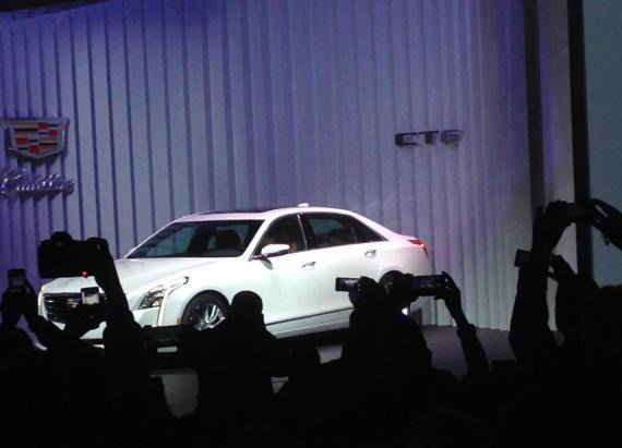 2016 Cadillac CT6 Reveal | 2015 NYIAS | Autoblog Short Cuts