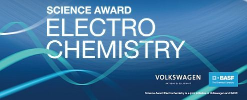 """Application process for the fourth """"Science Award for Electrochemistry"""" of BASF and Volkswagen starts now"""